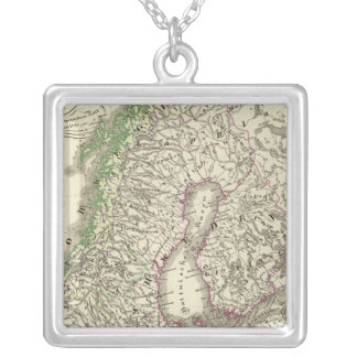 Scandinavia until the Peace of Friedrichshamm Silver Plated Necklace