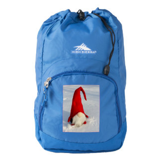 Scandinavian Christmas Gnome Backpack
