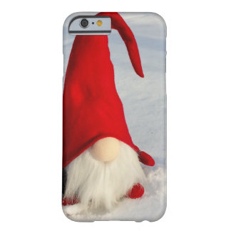 Scandinavian Christmas Gnome Barely There iPhone 6 Case