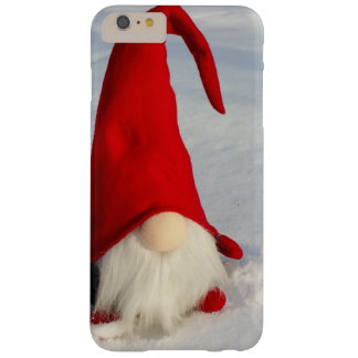 Scandinavian Christmas Gnome Barely There iPhone 6 Plus Case