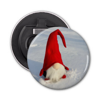 Scandinavian Christmas Gnome Bottle Opener