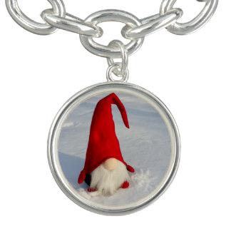 Scandinavian Christmas Gnome Bracelet