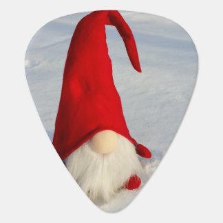 Scandinavian Christmas Gnome Guitar Pick