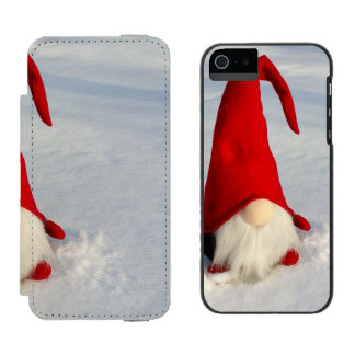 Scandinavian Christmas Gnome Incipio Watson™ iPhone 5 Wallet Case