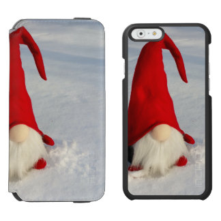 Scandinavian Christmas Gnome Incipio Watson™ iPhone 6 Wallet Case