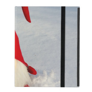 Scandinavian Christmas Gnome iPad Folio Case