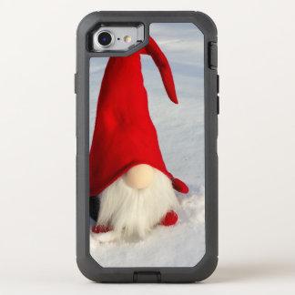 Scandinavian Christmas Gnome OtterBox Defender iPhone 8/7 Case