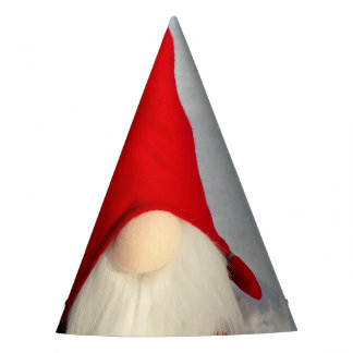 Scandinavian Christmas Gnome Party Hat