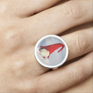 Scandinavian Christmas Gnome Photo Ring
