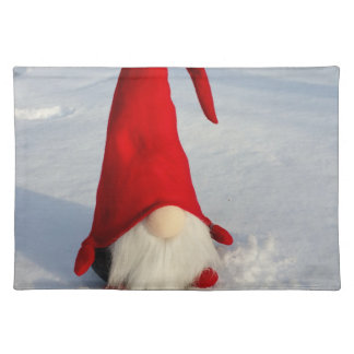 Scandinavian Christmas Gnome Placemat