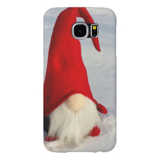 Scandinavian Christmas Gnome Samsung Galaxy S6 Cases