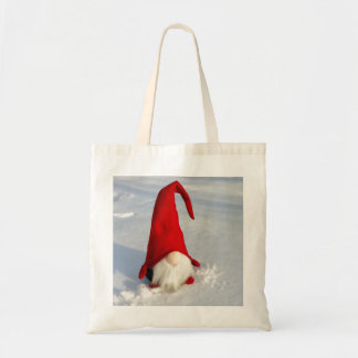 Scandinavian Christmas Gnome Tote Bag