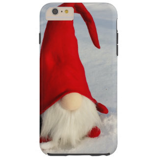 Scandinavian Christmas Gnome Tough iPhone 6 Plus Case