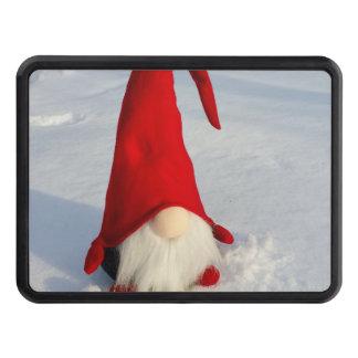 Scandinavian Christmas Gnome Trailer Hitch Cover