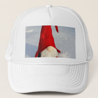 Scandinavian Christmas Gnome Trucker Hat