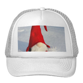Scandinavian Christmas Gnome Trucker Hat