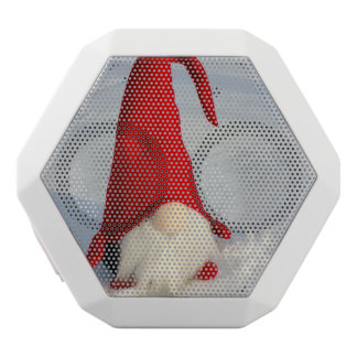 Scandinavian Christmas Gnome White Bluetooth Speaker