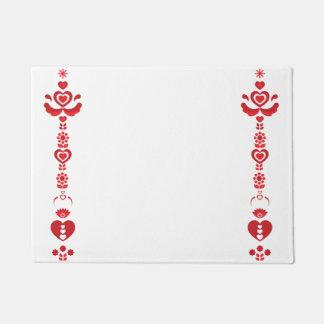 Scandinavian Christmas Modern Pattern Doormat