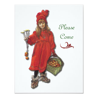 Scandinavian Christmas Party Card