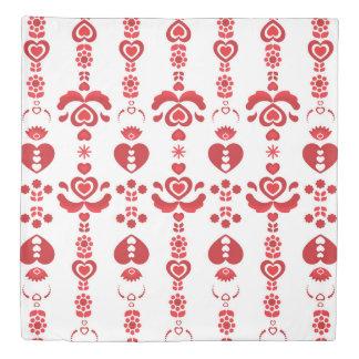 Scandinavian Christmas Pattern Duvet Cover