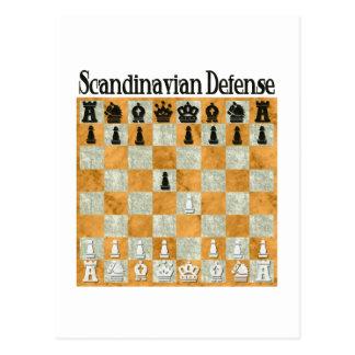 Scandinavian Defense Postcard