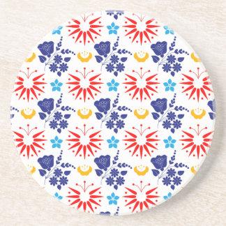 Scandinavian Ditsy Coaster
