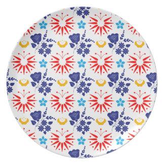 Scandinavian Ditsy Plate