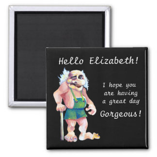 Scandinavian Funny Looking Love Troll Magnet