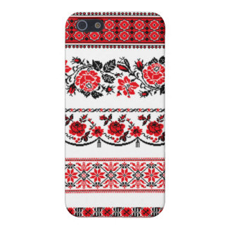 Scandinavian in Red iPhone 5 Cover