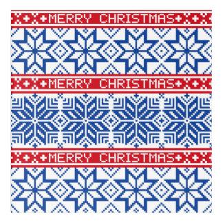 Scandinavian Merry Christmas Acrylic Print