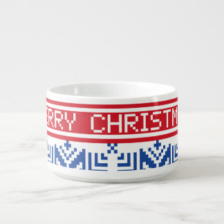 Scandinavian Merry Christmas Bowl