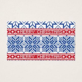 Scandinavian Merry Christmas Business Card
