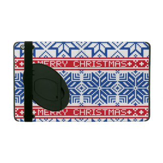 Scandinavian Merry Christmas iPad Cover