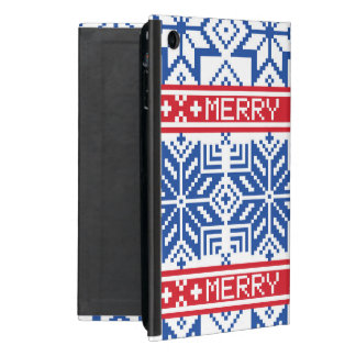 Scandinavian Merry Christmas iPad Mini Case