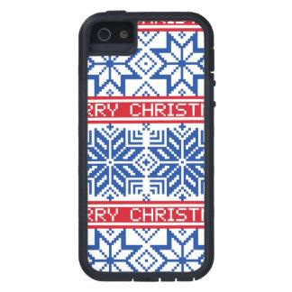 Scandinavian Merry Christmas iPhone 5 Cases