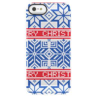 Scandinavian Merry Christmas Permafrost® iPhone SE/5/5s Case