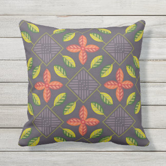 Scandinavian patchwork garden outdoor cushion