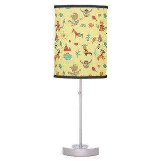 Scandinavian Pattern Table Table Lamp