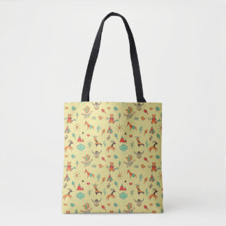 Scandinavian Pattern Women Tote Bag