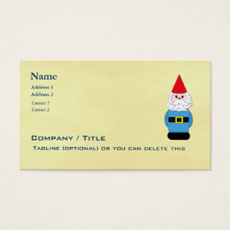 Scandinavian Troll or Gnome Business Card