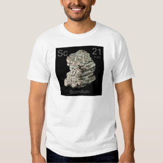 scandium t shirts