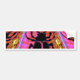 Scarab Beetle pink -Gold gifts by Sharles Bumper Sticker