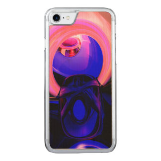 Scarab Flower Abstract Carved iPhone 7 Case