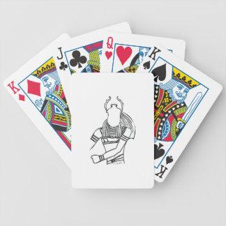 Scarab Pharaoh 1 Bicycle Playing Cards