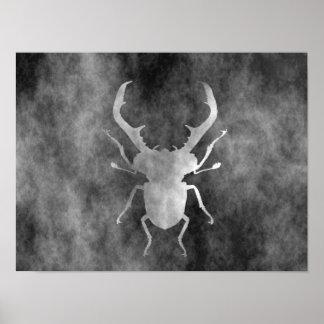 scarabée de mâle poster