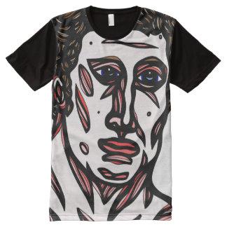 Scarano Abstract 631 Art American Apparel Men's Sh All-Over-Print T-Shirt
