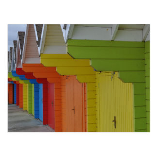 Scarborough Beach Huts III Postcard