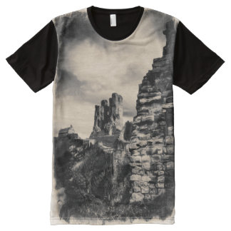 Scarborough Castle All-Over-Print T-Shirt