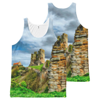 Scarborough Castle All-Over-Print Tank Top