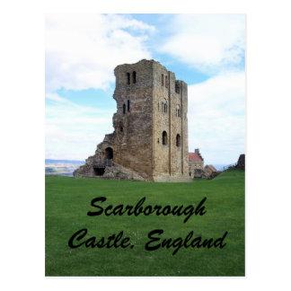 Scarborough Castle, England Postcard